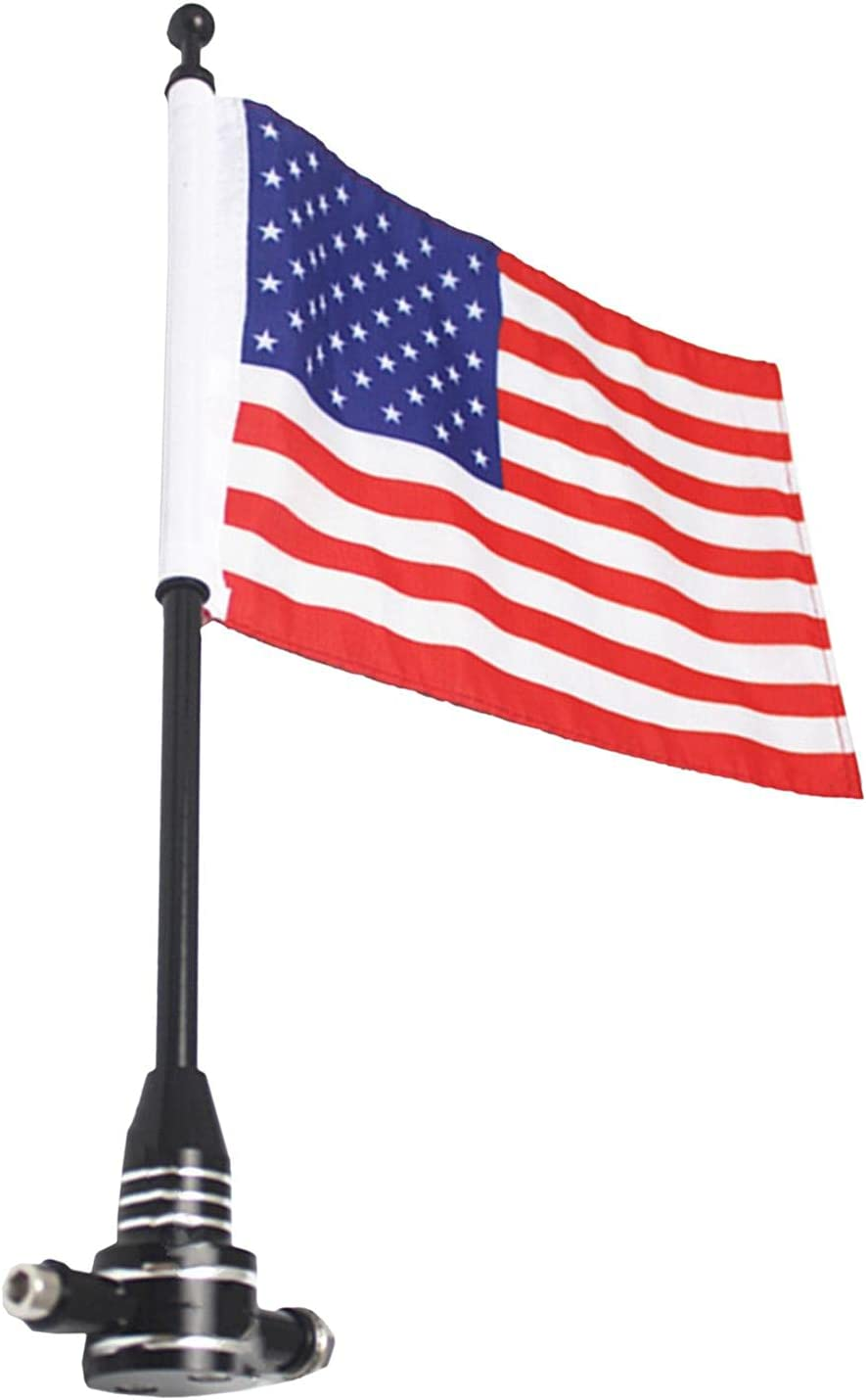 Bouilloire Motorcycle Flagpole Mount and Inventory cleanup selling Virginia Beach Mall sale American Flag Adjustabl