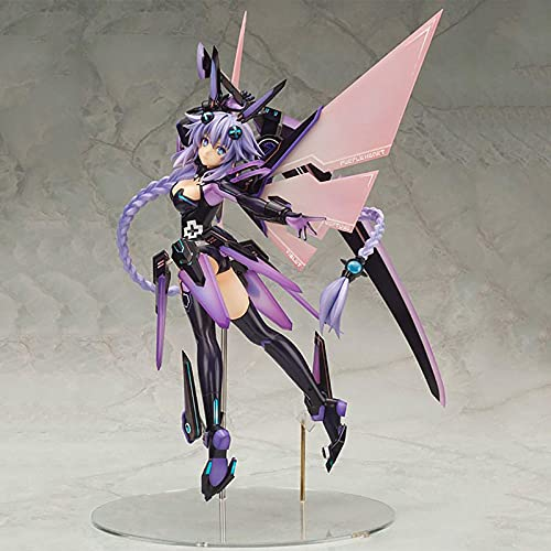 Jin Chuang Alter Hyperdimension Neptunia Purple Heart Alter Anime Figures PVC Action Figure Model Toys Collection Doll Gift
