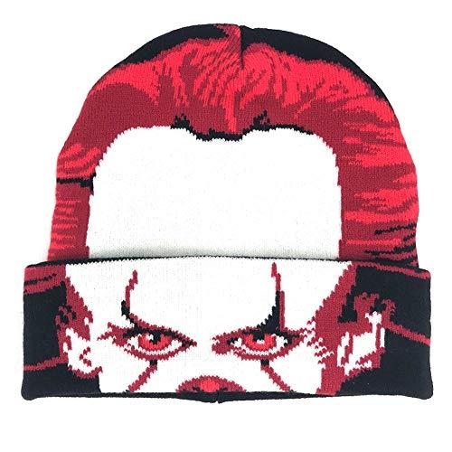 Concept One Steven King's IT Pennywise Roll-Maske zum Herunterrollen, Wintermütze, Schwarz