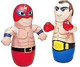 """36"""" 2 Pack 3-D Bop Bag Masked Wrestler and Boxer - MMA..."""