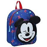 Disney Mickey Mouse Rucksack für Kinder - Be Amazing - Blau