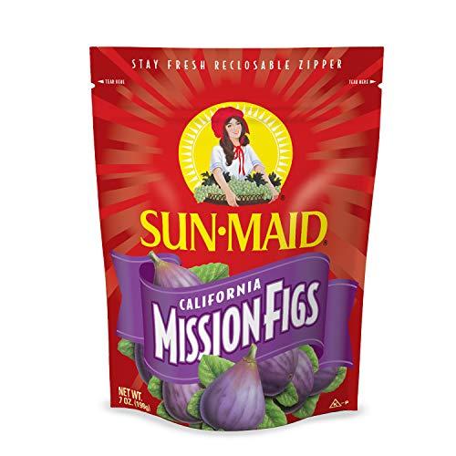 Sun-Maid California Dried Mission Figs, No added sugar, Non-GMO 7 oz