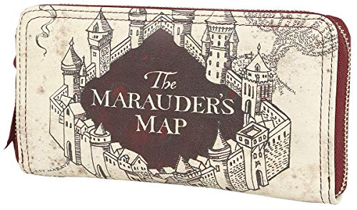 HARRY POTTER Z888050 The Marauder's Map Portefeuille Multicolore - Version Allemande