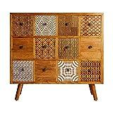 Mueble auxiliar con cajones decorativos modelo TUNEZ Burkina