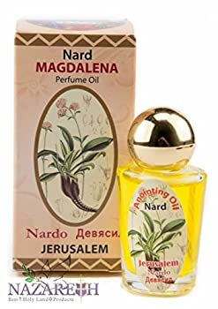 Nard Magdalena Anointing Oil Bottle 10ml Authentic Fragrance From Jerusalem
