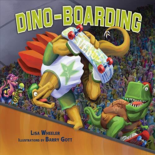 『Dino-Boarding』のカバーアート