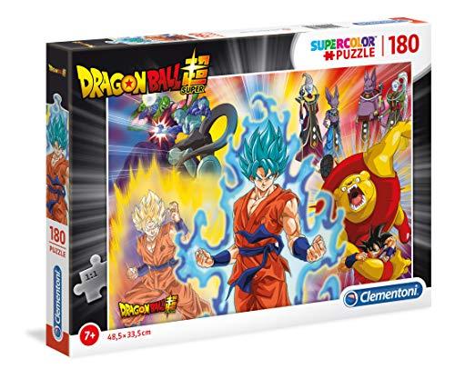 Supercolor Puzzle Dragon Ball Super 180 Piezas, Multicolor (29761)