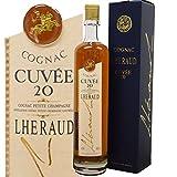 Lheraud Cognac, Cuvee 20-20 Jahre im Fass gereift -