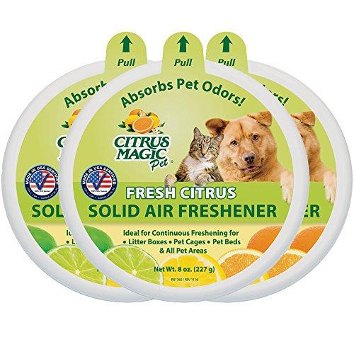 Citrus Magic Pet Odor Absorbing Solid Air Freshener Fresh...