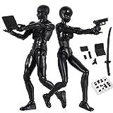 DirkFigge Body Chan & Kun Muñeca Hombre Mujer DX Set Dibujo PVC Maniquí Humano Movebale Figura de Ac...