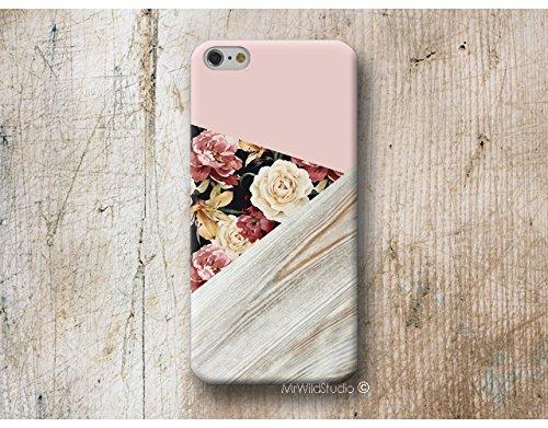 Pink Blumen Rosa Hülle Handyhülle für Samsung Galaxy A3 A5 A6 A7 A8 J3 J5 J6 J7 2016 2017 2018 Cover Case