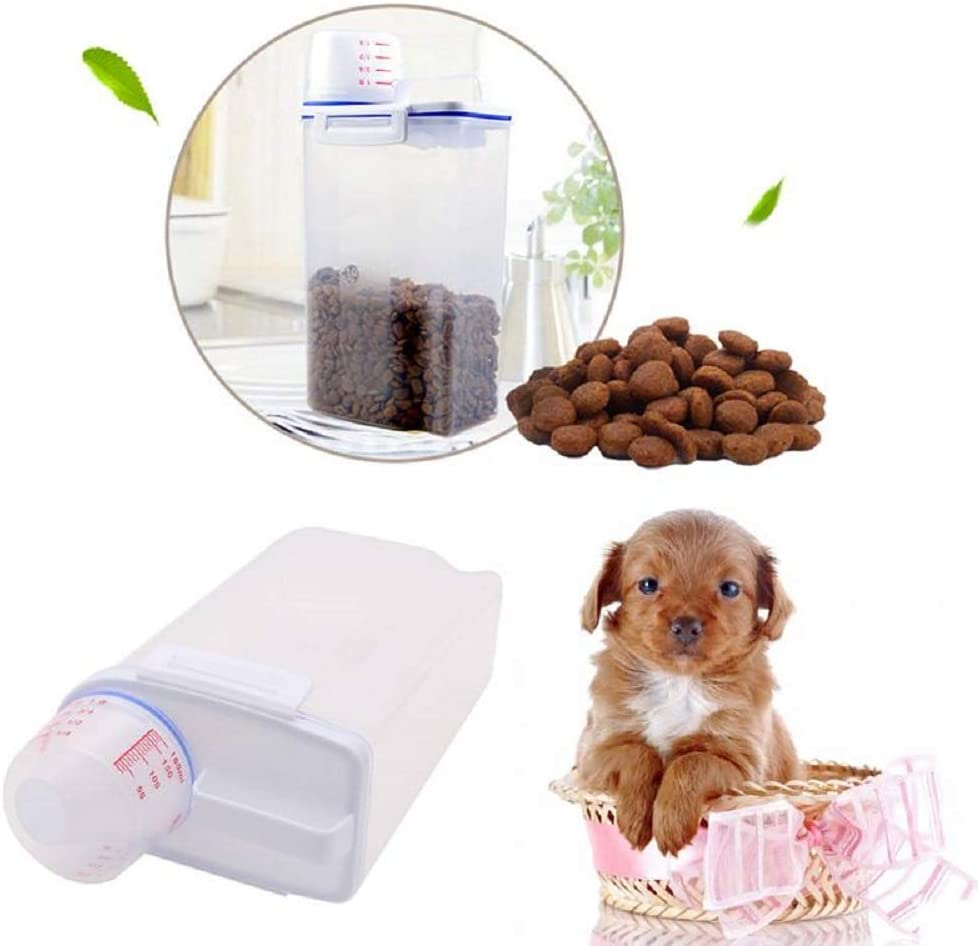NBDPF SEAL limited product Dog Food Bucket Max 45% OFF Cat Pet Dry Dispenser Wet