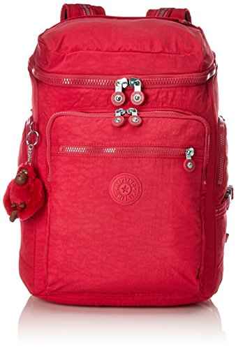 Kipling UPGRADE Mochila escolar, 46 cm, 28 liters, Rosa (True Pink)