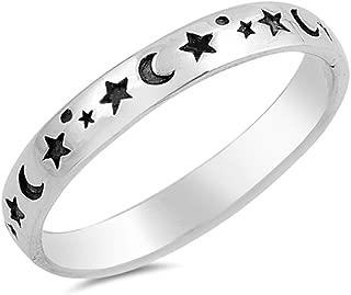 black star ring