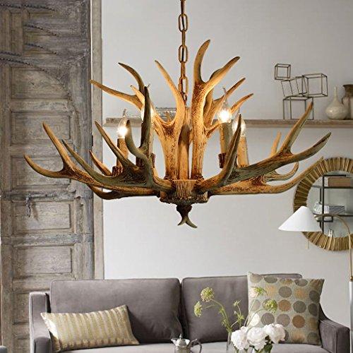 & Perfect ** - 5 tête - lustres country américain nordique minimaliste bois lustres rétro lampes de jardin chambre salle à manger salon de style européen lustres