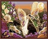 SiJOO 4050 Olio Digitale Foto Dipinta a Mano Stile Europeo Olio Digitale 356 Dream Angel