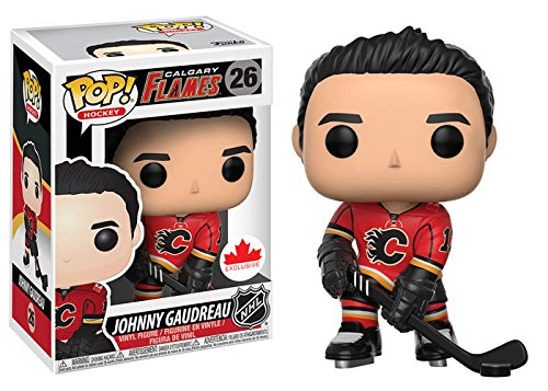 NHL Hockey POP 026: Calgary Flames- Johnny Gaudreau (Home) Exclusive