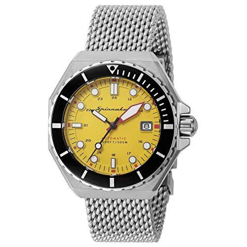 Spinnaker Vintage Dumas Reloj para Hombre Analógico de Cuarzo con Brazalete de Acero Inoxidable SP-5081-44