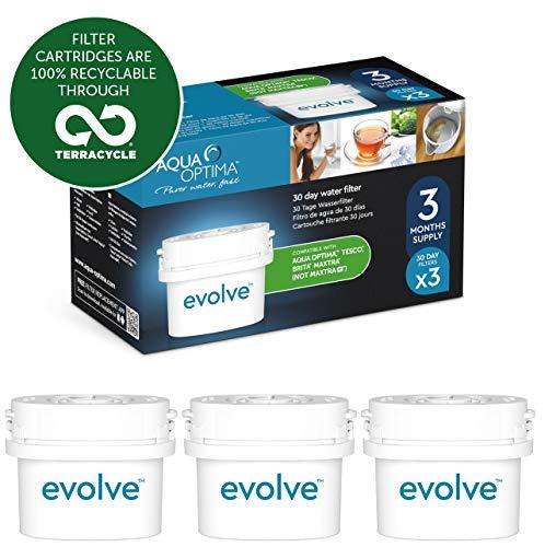 Aqua Optima Evolve - Filtros de agua de 60 días