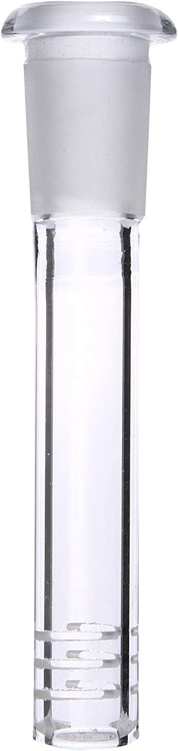 18mm by 14mm Stem Popular Clear Scientic Inch Tube Lengt Glass Max 51% OFF 4 Adapter
