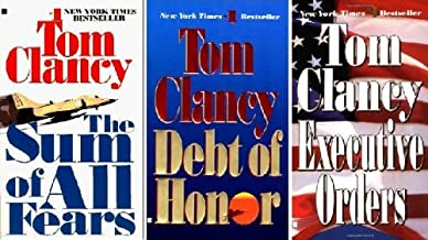 Tom Clancy Set <Jack Ryan> (The Sum of All Fears, Debt of Honor, Executive Orders, 7-9)