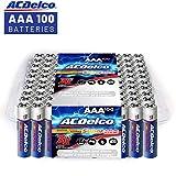 ACDelco AAA Super Alkaline Batteries in Recloseable Package, 100...