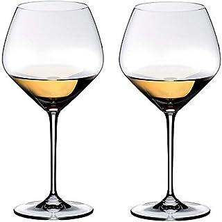 Riedel Heart to Heart Chardonnay-Gläser, transparent, 70 ml, 2 Stück