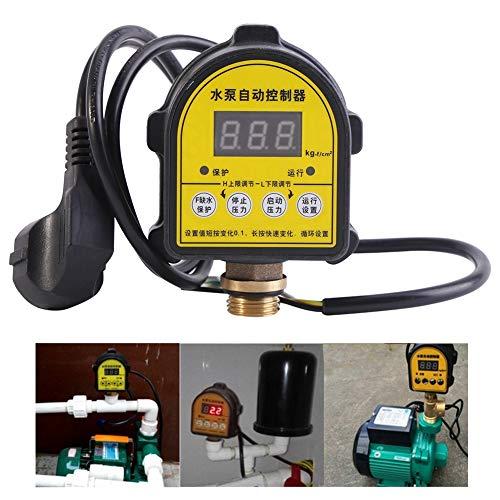 Controlador de pressão, interruptor ON OFF interruptor de bomba, bomba de água digital doméstica automática para fonte de lagoa de piscina de centro