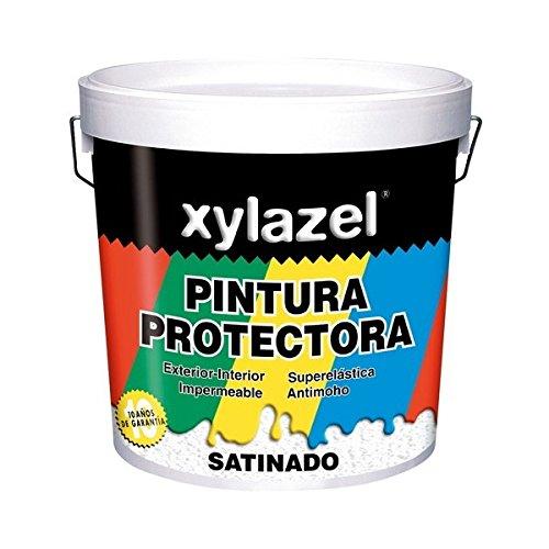 Xylazel - Pintura protectora satinado 4l blanco