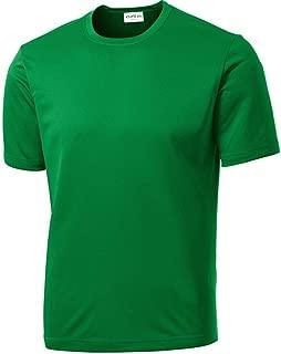 Men's Short Sleeve Moisture Wicking Athletic T-Shirt