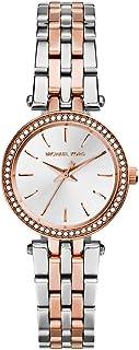 Michael Kors Petite Darci Women's Silver Dial Stainless Steel Analog Watch - MK3298