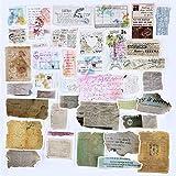 120pcs Pegatinas Scrapbooking Vintage Stickers para Manualidades Bullet Journal Álbum Fotos Agenda Adhesivos DIY Decoración Álbumes de Recortes Calendarios Tarjetas Sobres Regalos