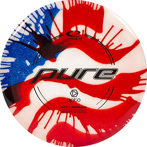 Latitude 64 Hybrid Pure MyDye Disc Golf Discs | Disc Golf Putter | Frisbee Golf Putt and Approach Disc | 170g Plus | Stamp Color Will Vary