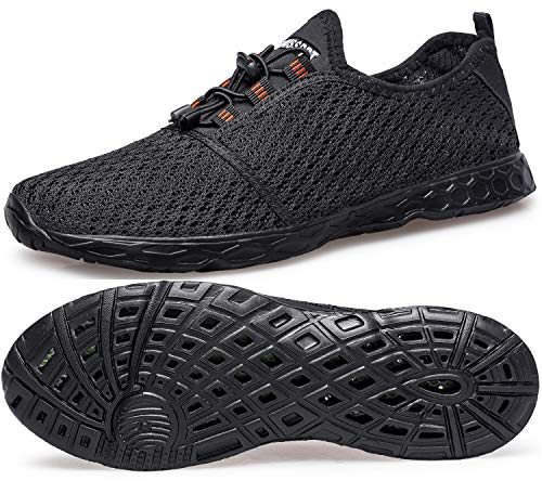 DOUSSPRT Women's Water Shoes Quick Drying Sports Aqua Shoes