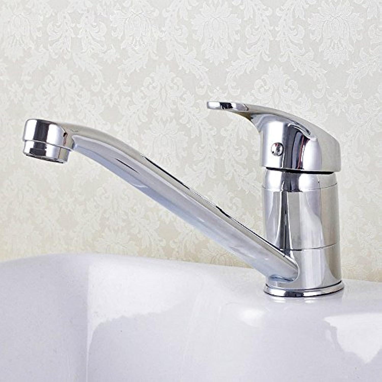 Gyps Faucet Waschtisch-Einhebelmischer Waschtischarmatur BadarmaturDie Küche kalt Wasser Windeisen, Drehen Sie den Messing Armaturen Waschbecken Single-Teller Waschtischmischer