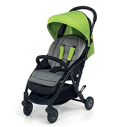 Foppapedretti Boarding - Silla de paseo ligera y super compacta, color verde