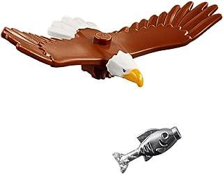 LEGO Outdoor Adventure Minifigura/Animal: Águila Calva (con pez