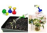 Eva Shop - Juego de 3 accesorios de riego para botellas para regar tus plantas con precisión – Sprinkler para botellas PET – Ideal para los jardineros, envío desde BRD por marca alemana