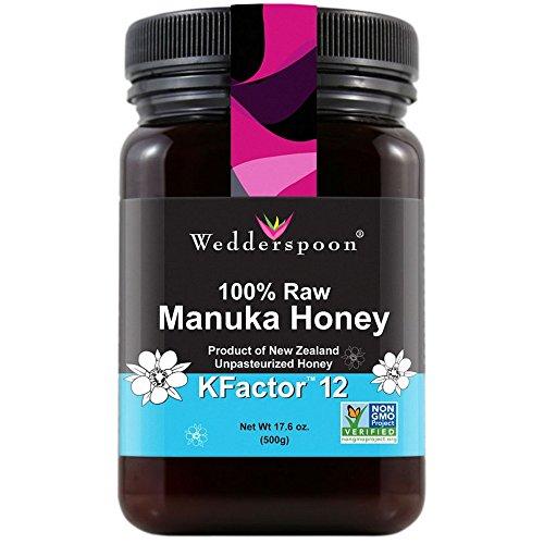 Wedderspoon RAW Manuka Honing Actief 12+ 500g