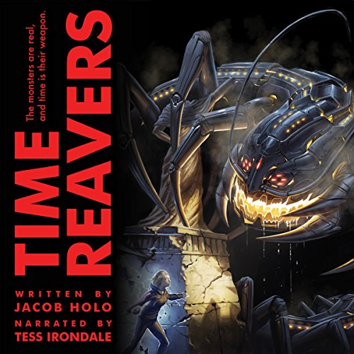 Time Reavers audiobook cover art