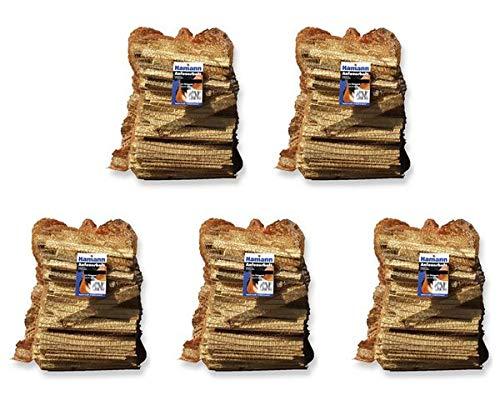 Anfeuerholz im 5,0 dm³ Netz 5 Stk. - eignet sich ideal zum Anfeuern von Holzbriketts oder Brennholz in Ihrem Kamin oder Ofen.