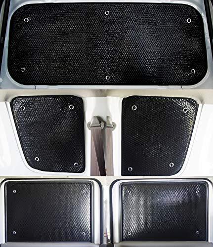 車種別サンシェード スズキ エブリー/エブリィ/エブリイ DA64V ハイルーフタイプ専用 リアとリアサイド計5...
