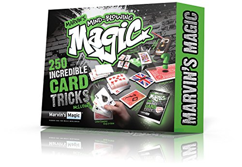 Marvin's Magic - Mind-Blowing 250 Card Tricks Set | Children...