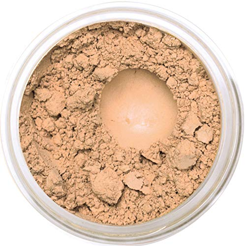 Bella Terra Mineral Powder Foundation | Long-Lasting All-Day Wear | Buildable Sheer to Full Coverage – Matte | Sensitive Skin Approved | Natural SPF 15 (Nutmeg) 9 grams