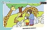 Nathan Marco 15Piezas T 'choupi AU Zoo, Puzzle, Cassia Tete, niños, Garcon, Juego, Juguete niña 3años, T' choupi, 4005556861316, Nada