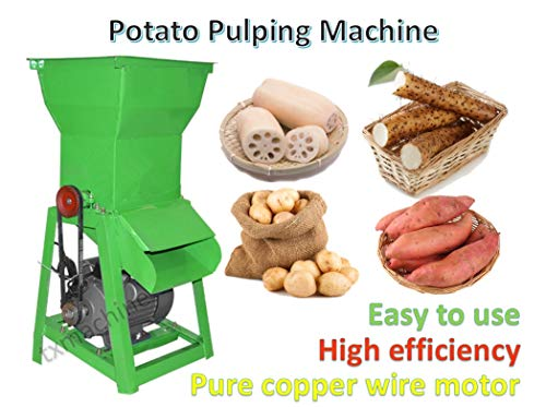 Lowest Prices! TZ Commercial Potato Grinding Machine Cassava Grinding Machine Fresh Lotus Root Grind...