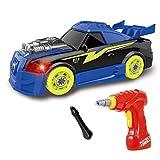 construction Jouet sport voiture – 26 pièces à démonter avec des sons et...