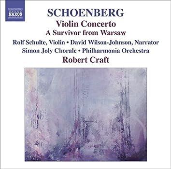 Schoenberg, A.: Violin Concerto / Ode To Napoleon / A Survivor From Warsaw