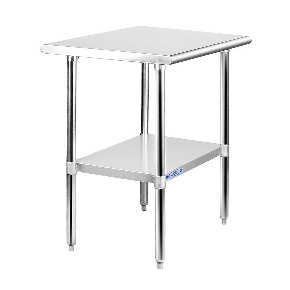 Stainless Steel Table for Prep Work x 30 24 Overseas parallel import regular item Commer NSF Virginia Beach Mall Inches