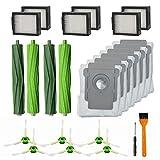 IUCVOXCVB Accesorios de aspiradora 24 Paquete De Piezas De Repuesto For El Ajuste For IRobot Roomba I7 I7 + / I7 Plus E5 E6 S9Vacuum Accesorios For Aspiradoras